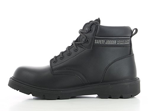 SAFETY JOGGER X1100N Men Safety Toe Lightweight EH PR Water Resistant Mid Cut Boot, M 11.5, Black by SAFETY JOGGER (Image #4)