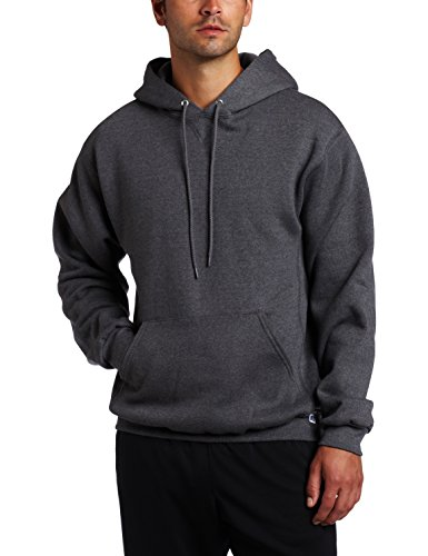 Russell Athletic Men's Dri Power Pullover Fleece Hoodie, Graphite, Large