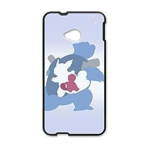 Pikachu Pocket Monster Black HTC M7 case