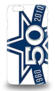 Durable NFL Dallas Cowboys Logo Back 3D PC Soft Case Cover For Iphone 6 ( Custom Picture iPhone 6, iPhone 6 PLUS, iPhone 5, iPhone 5S, iPhone 5C, iPhone 4, iPhone 4S,Galaxy S6,Galaxy S5,Galaxy S4,Galaxy S3,Note 3,iPad Mini-Mini 2,iPad Air )