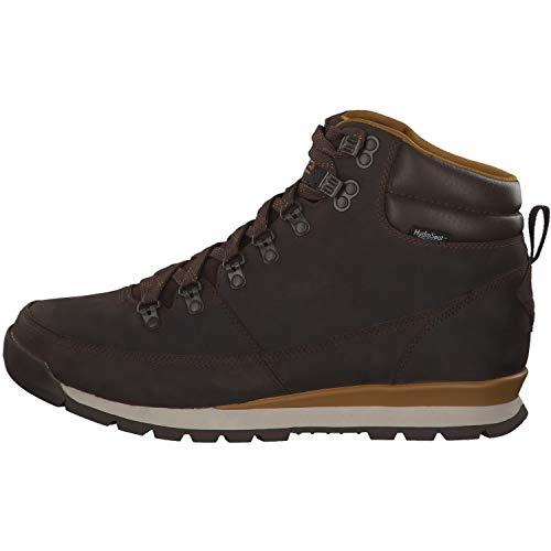 Alti Leather Chocolate goldn The Stivali Face North Escursionismo Back berkeley Da Brwn Brwn to Redux Uomo Hv71Yq