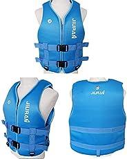 Haihui Life Jackets Vests Outdoor Fishing Life Vest Safety Jacket Swimming Sailing Waistcoat Vest Lifesaving W