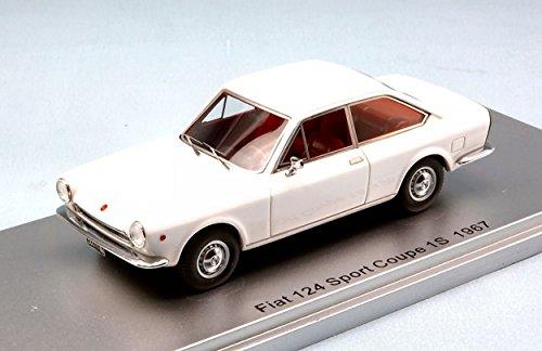 Fiat 124 Sport Coupe 1S (1967) Resin Model Car
