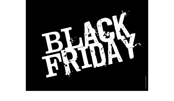 akrocard Cartel Resistente PVC - Black Friday - Señaletica ...