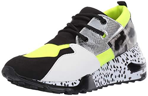 Steve Madden Women's Cliff Sneaker neon Green 9 M US
