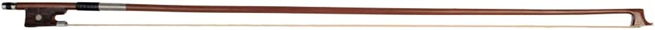 Walmeck Naomi VB0908-026 Violin Bow Rosewood Bowstick Ebony Frog Sheep Leather Wrap with Mongolia Horse Hair Orchestral Strings Accessories for 1//2 Violin