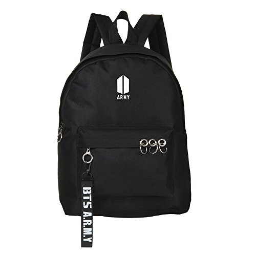 Backpack Satchel Sky Schoolbag BTS Starry Skisneostype Black KPOP Bangtan Bags 3 Unisex Sports Boys Canvas qfHHwgEzn