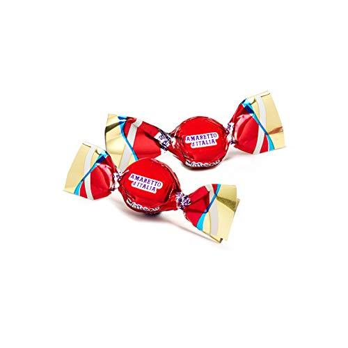 Glitterati AMARETTO D'ITALIA - Famous Miniature Hard Candies (65 Ct  Pouch)