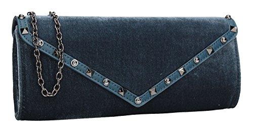 SwankySwans pour Pochette sarcelle femme bleu CX67Xnwq