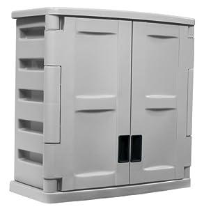 Suncast C2800g Utility 2 Door Wall Cabinet Garage