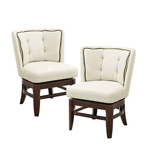 Homelegance Oratorio Two-Pack Upholstered Swivel Chair