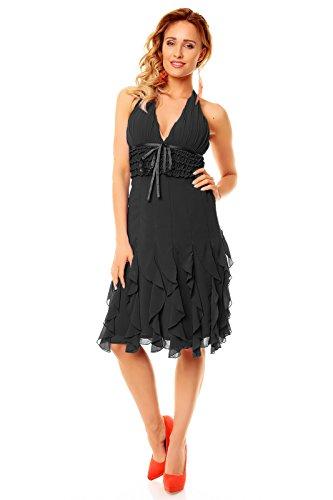 2f9f6a163f8 ... Eteuikleid Kleid Abendkleid Hs-310a Mayaadi Cocktailkleid Schwarz Ballkleid  Festkleid Partykleid ...