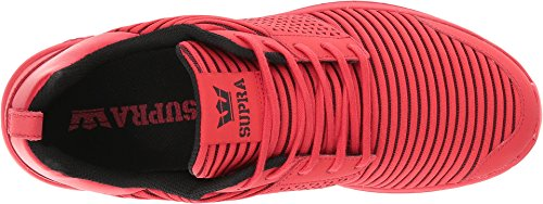 Red Red Black Supra White Risk Men's Scissor Red Trainers Xwwtq8Axp