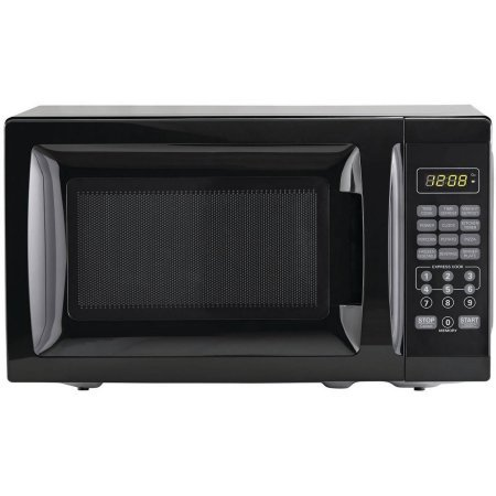 700W Output Microwave Oven, Black