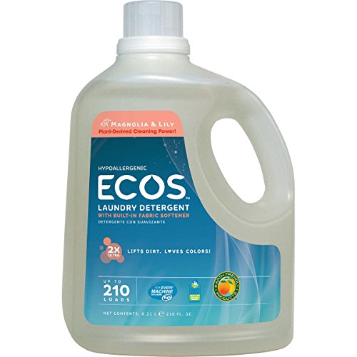Earth Friendly Products Ecos Liquid Laundry Detergent , Magnolia & Lily (210 Loads (210 oz.))