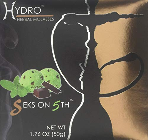 Hydro Herbal 50g Seks on 5 TH (Chocolate Mint)Hookah Shisha Tobacco Free Molasses