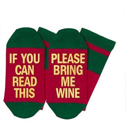 Apioffer Europ/äische und amerikanische Sohlen Englisch Alphabet WENN SIE Dieses Lesen Baumwolle Socken Unisex Neutral Casual Socken 1 Paar