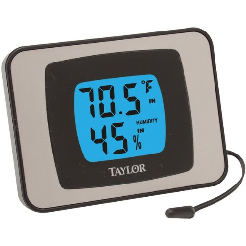 """Taylor Indoor/Outdoor Thermometer (Thermometer & Hygrometer) """"Product Type: Weather Stations & Thermometers/Thermometers"""""""