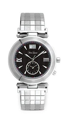 Pierre Laurent Unisex TRAVELLERS 2 36mm Swiss Watch w/ Date, 22227