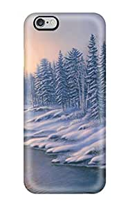 Fashion DLCOLhw5995AlDhT Case Cover For Apple Iphone 4/4S (winter)