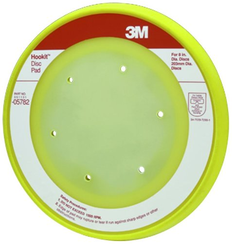 3M 05782 Hookit 8'' Dust Free Disc Pad