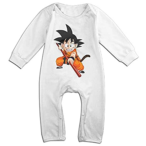 VanillaBubble Kid Goku For 6-24 Months Newborn Vintage Tshirt White Size 18 Months - Dora The Explorer Crocs