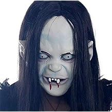 M&M Halloween Horror Máscara De Brujas Maldición Máscara De Terror Máscara De Horror Capucha Morena Máscara De Zombies