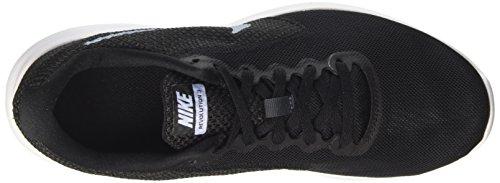 Nike Wmns Revolution 3, Zapatos para Correr para Mujer Varios colores (Black / Aluminum / Anthracite / White)