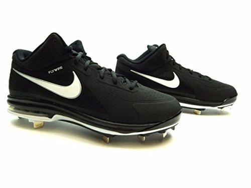 super popular 8a16a 4832a Nike Men s Air Max MVP Elite 3 4 Metal Baseball Cleats (Black White, 10  D(M) US)