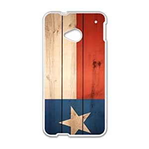 The red white and blue stars Phone Case for HTC One M7