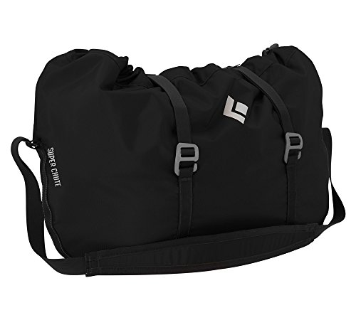 Black Diamond Super Chute Rope Bag, Black, One Size