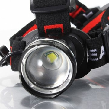 Pakhuis Bike Bicycle CREE T6 LED 1600Lm Rechargeable Zoomable Headlight - Blue