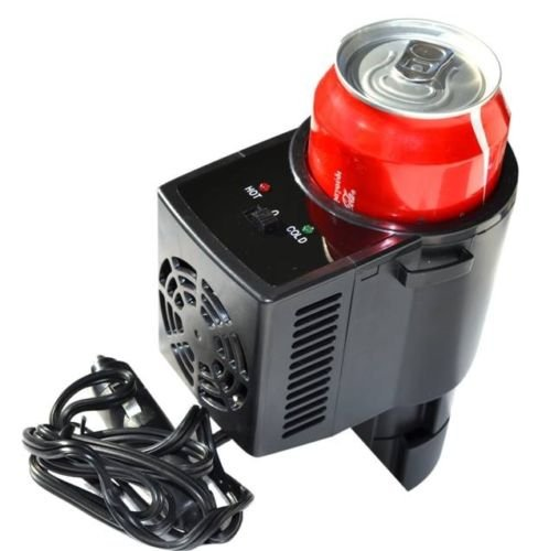 2- In - 1 Car Mini Fridge Cold & HOT - Specially Designed for Car Uses