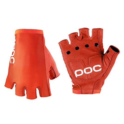 (POC AVIP Glove Short, Cycling Gloves, Zink Orange, S)