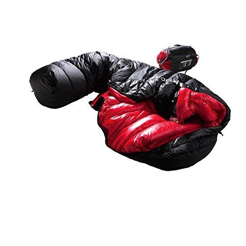 Mckinley Saco de dormir momia Kodiak 13 Blk/Red Uni: Amazon.es: Deportes y aire libre