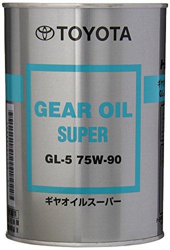 - Toyota Genuine Parts 08885-02106 Hypoid API GL-5 75W-90 Gear Lube - 1 Quart