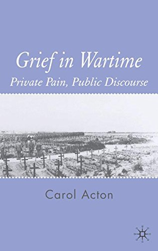 Grief in Wartime: Private Pain, Public Discourse ebook