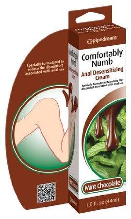 Multi Function Comfortably Numb Anal désensibilisation Cream - chocolat à la menthe