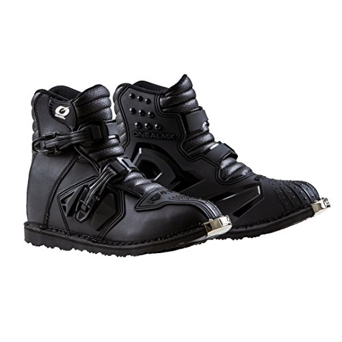 - O'Neal Unisex-Adult Rider Shorty Boot BLK 11 (Black