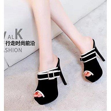 Printemps Chaussures Bleu Confort Confort LvYuan ggx black à cm Polyuréthane 10 Décontracté 12 Femme Rouge Talons à Noir qEHp0HwC