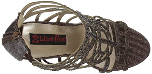 Women Amaze Sandal Too Too 2 Lips Bronze Gladiator 7q1EHvw