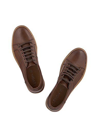 UK Sneakers Men in LEVON Brown Size 9 F5Xqdwxd