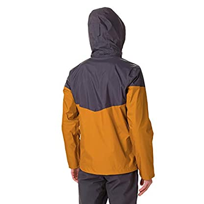 Columbia Herren Inner Limits Regenjacke, Gelb/Grau (Burnished Amber, Shark), L 2