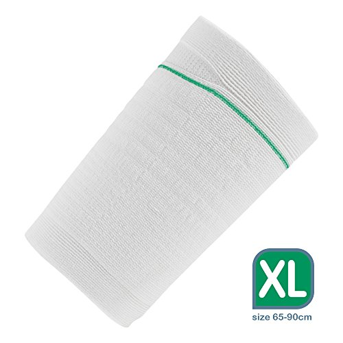 Ugo Fix Sleeve - Catheter Leg Bag Holder/Catheter Bag Cover, Strong and Durable Fibre Blends with External Seams, Washable and Reusable with Free Laundry Bag (Pack of 4) (Extra Large) ()