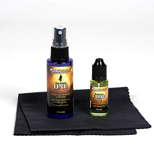 Music Nomad MN140 Premium Guitar Care 3-Piece Kit