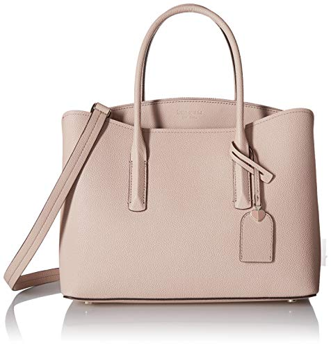 Kate Spade New York Women's Margaux Large Satchel, Pale Vellum, Pink, One Size