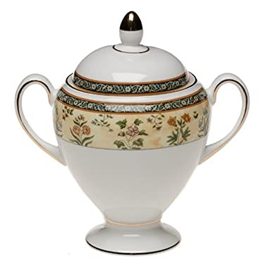 Wedgwood India Bone China Sugar Bowl