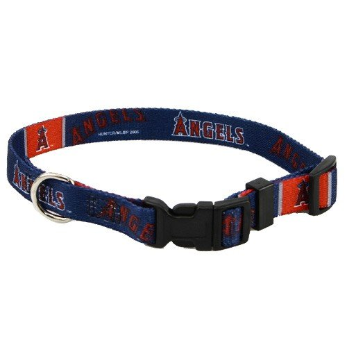 Los Angeles Angels of Anaheim Pet Dog Collar (Large), My Pet Supplies