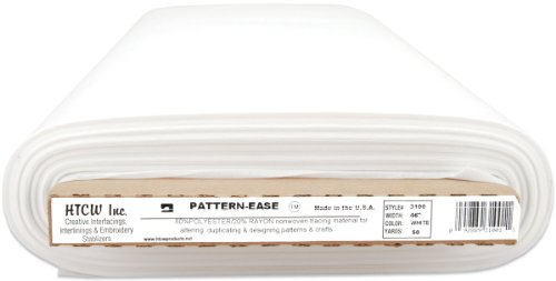 Price comparison product image HTC Pattern Ease Tracing Material, 46-Inch by 50-Yard, White