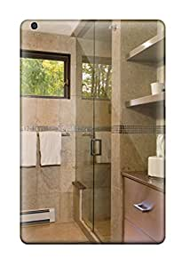 Ipad Mini/mini 2 Case Bumper Tpu Skin Cover For Modern Bathroom With Stainless Steel Cabinets And Glass Shower Accessories